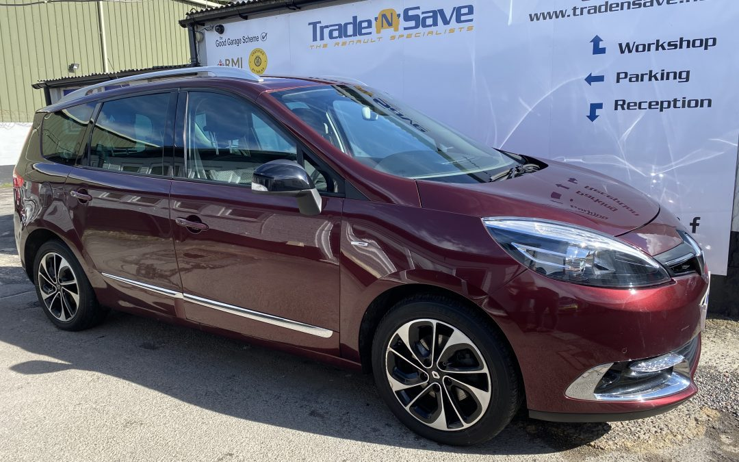 2015 Renault Grand Scenic BOSE Edition 1.5 DCi AUTOMATIC