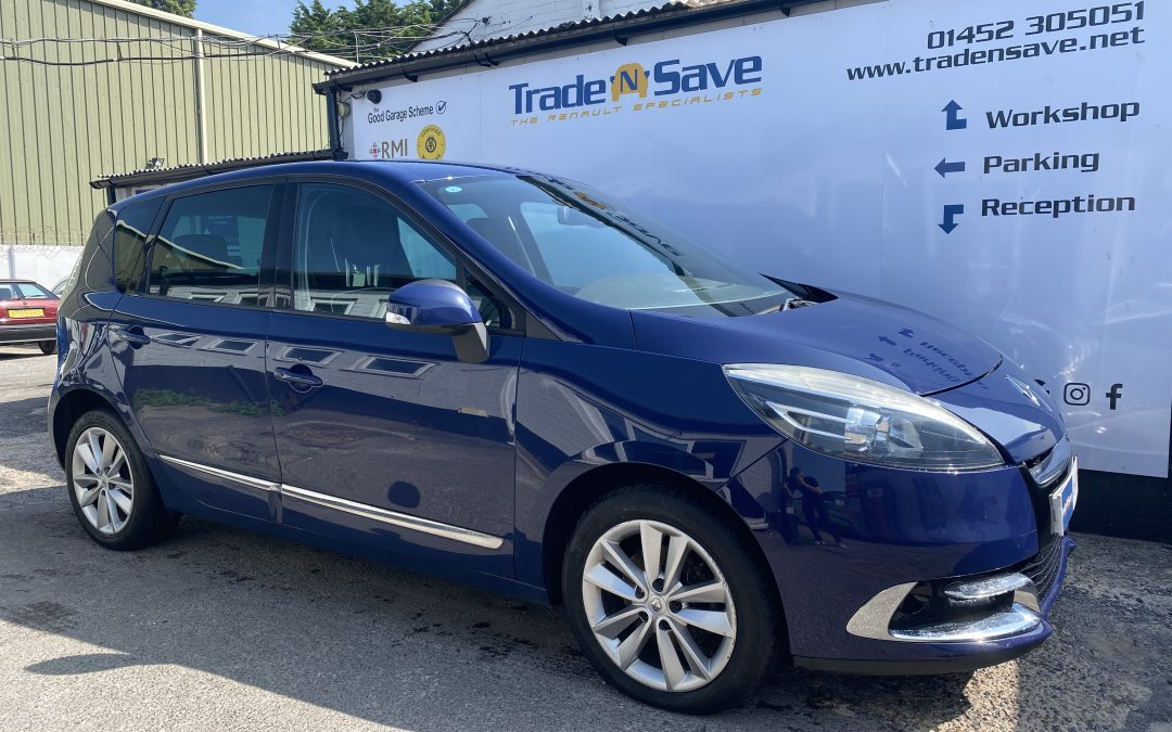 2014 Renault Scenic Dynamique Luxe 1.6 DCi